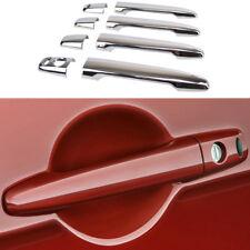 For Mitsubishi Outlander Lancer Evo Car Door Handle Cover Smart Chrome Trim Cap