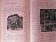 British & Foreign Bible Society Bible House Rome China Old Antique Article 1903