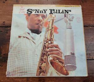SONNY ROLLINS - THE SOUND OF SONNY LP RLP 12-241 RIVERSIDE 1961 MONO VG+!