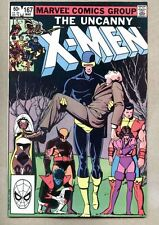 Uncanny X-Men #167-1983 nm- X Men Paul Smith / Brood Binary Carol Danvers