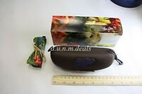 Moui Jim Brown with Box & Cleaning Cloth Sunglasses Case (Authentic)