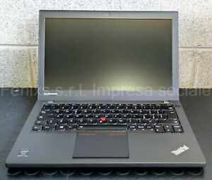 """Lenovo ThinkPad x240, 12.5"""", I5, HDD 500 GB, Wind 10 Attivato, Ricondizionato"""