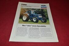Ford 7810 Tractor Dealer's Brochure GDSD7