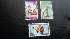 Nigeria, Stamps, 1986, Konvolut = 3 Marken gestempelt