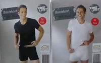 Herren Unterziehshirt Unterhemd weiß schwarz 2er Pack. 5 M, 6 L, 7 XL, 8 XXL