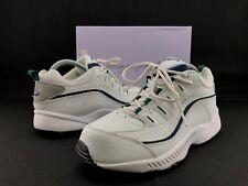 Easy Spirit Romy Women's White Leather Athletic Walking Sneakers US 9.5 W C416