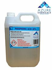 PHOSPHORIC ACID 30% DESCALER 5 LITRES - NEXT DAY DELIVERY - RUST REMOVER