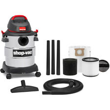 6 Gallon Shop-Vac Stainless Steel Wet/Dry Vacuum 4.5 Peak Horse Power and Tools