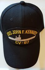 U.S. NAVY USS JOHN F. KENNEDY CV-67 Military Ball Cap