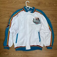 AUTHENTIC & RARE '96 TEAM ISSUED 50TH ANNIVERSARY DETROIT PISTONS WARM UP JACKET