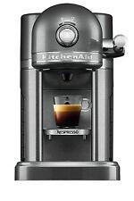 Nespresso by KitchenAid 5KES0504AMS CapsuleCoffee & Aeroccino3 -Medallion Silver