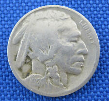 1924 D U.S. BUFFALO NICKEL COIN W/ PLANCHET ERROR