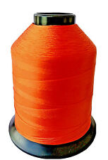 Vintage Gudebrod Orange #221 Nylon Rod Winding Thread Sz Ee 1,100 Yd 4 oz Spool