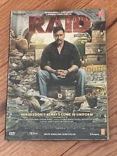 Raid Hindi DVD - Ajay Devgan, Ileana Dcruz A 2018 Bollywood Movie