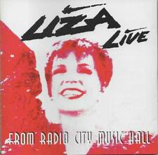 Liza Live From Radio City Music Hall CD NEU Overture Teach Me Tonight Old Friend