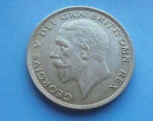 1929 George V. Half-Crown, (Silver) as shown.