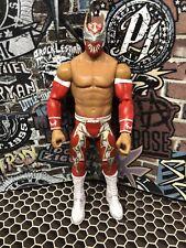 WWE Mattel Basic Series 28 Sin Cara Wrestling Action Figure WWF Red Gold
