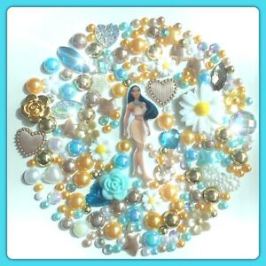 Disney Pocahontas Theme Flatbacks Cabochons Gems & Pearls For Crafts Decoden