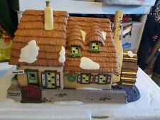 Dept 56 Dickens Village - The Christmas Carol Cottage w/ Smoking Chimney