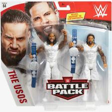 WWE Mattel The Usos Jimmy/Jey Battle Packs 64 Basic Figures