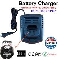 Battery Charger for Makita BL1013 BL1014 10.8V 12V DC10WA DC10WB 10.8V/12V