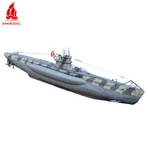 ARKMODEL 1/48 German Type VIIC Submarine U-Boat RC Submarine Ship Model Boat KIT