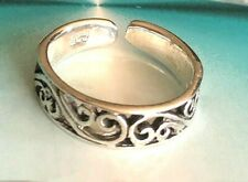Sterling Silver .925 Toe Ring ~ Victorian Weave $7.59 ~ 5mm ~All Sterling