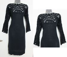 MONSOON Navy Embroidered High Low Hem Tunic Dress UK L Casual Formal