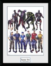 Impresión de coleccionista de arte conceptual de Resident Evil