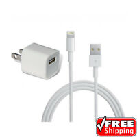 Apple Original Wall Charger iPod iPhone USB Power Brick and Cable 5W MD810LL/A
