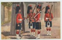The Black Watch, Relieving Sentries Harry Payne Tuck 9994 Art Postcard, C003