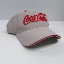 Coca-Cola Gray with Red Logo Baseball Cap Hat with Adjustable Back - BRAND NEW