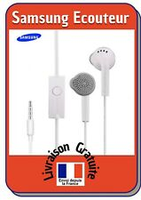 Samsung écouteurs S5830 intra-auriculaires 3.5mm filaire Blanc Neuf Sous Blister