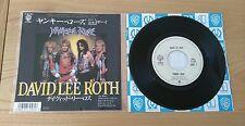 "David Lee Roth Yankee Rose 1986 Japan 7"" Single P-2139 Insert Classic Hard Rock"