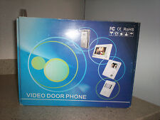 "$0 Ship W/ 7"" Panvigor PV-8012C-7 Video Door Phone W/ Night Vision Sony Camera"