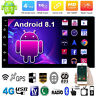 "Quad Core Android Auto Radio 8.1 3G WIFI 7"" Doble 2DIN MP5 GPS Navi Player WiFi"