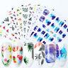 3D Nagel Sticker Bunte Blume Mixed Transfer Decals Nail Art Dekoration DIY Tipps
