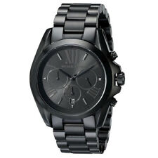 Women's Watch Michael Kors MK5550 Bradshaw Casual Watches Quartz Black Tone Date