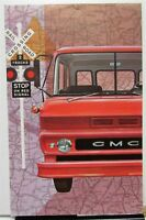 1961 GMC Trucks Dealer Sales Brochure Folder Tilt-Cab Models HD V6 V12 Twin Six