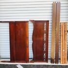 Vintage Mahogany Full/Double Bed Frame - Headboard & Footboard