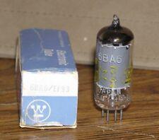1 NOS Westinghouse 6BA6 / EF93 Vacuum Tube ~ Tests Good