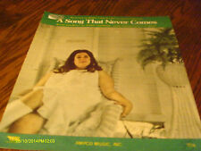 Mama Cass Elliot A Song That Never Comes 1967 Photo Sheet Music