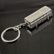 Zinc Alloy Key Chain Key Ring Bus Shape Unisex Fashion Creative Model Gift