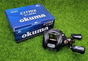Okuma Citrix 6.4:1 Low-Profile Baitcast Reel, Right Hand - Ci-364a