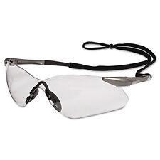 Jackson Safety Nemesis VL Glasses Gunmetal Frame Clear Lens 20470