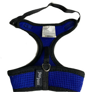 Four Paws Comfort Control Dog Harness Blue Small And Additional Small Harness