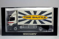 """Minichamps Mercedes Benz 1820 Atego Delivery Truck """"Hammer Time Shuttle"""" 1/43"""