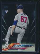 2018 Topps Series 2 Black Parallel #514 AJ Minter Atlanta Braves 30/67 Rookie RC