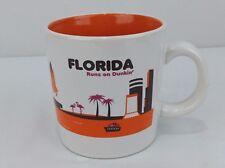 2012 Dunkin Donuts Florida State Ceramic Mug