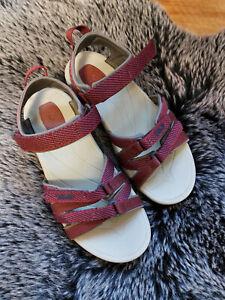 TEVA  Tirra Damen Outdoor Sandale  GR 38 Bordo